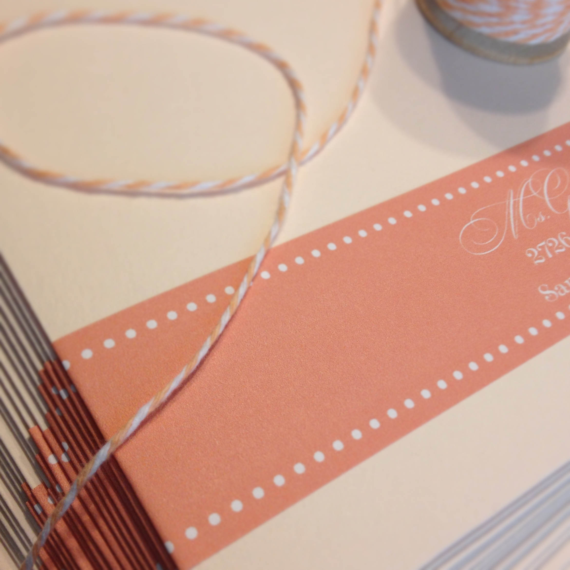 bridal shower invitation labels