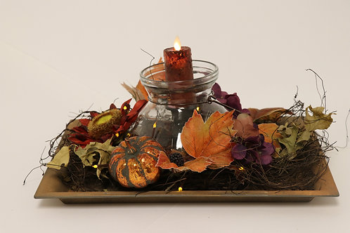 Country Kitchen Tray Centerpiece