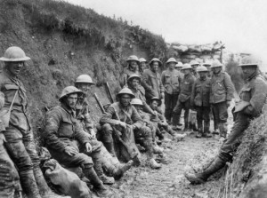 Battle of the Somme , 1916