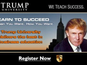 Trump University: Subject of an ongoing lawsuit