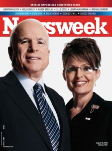 McCain and Sarah Palin