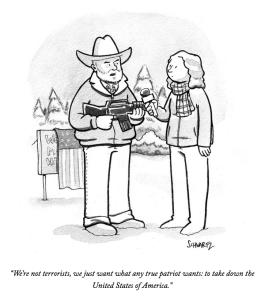 Schwartz cartoon for the New Yorker