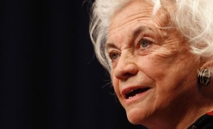 Former Supreme Court Justice Sandra Day O'Connor has made civic education her cause