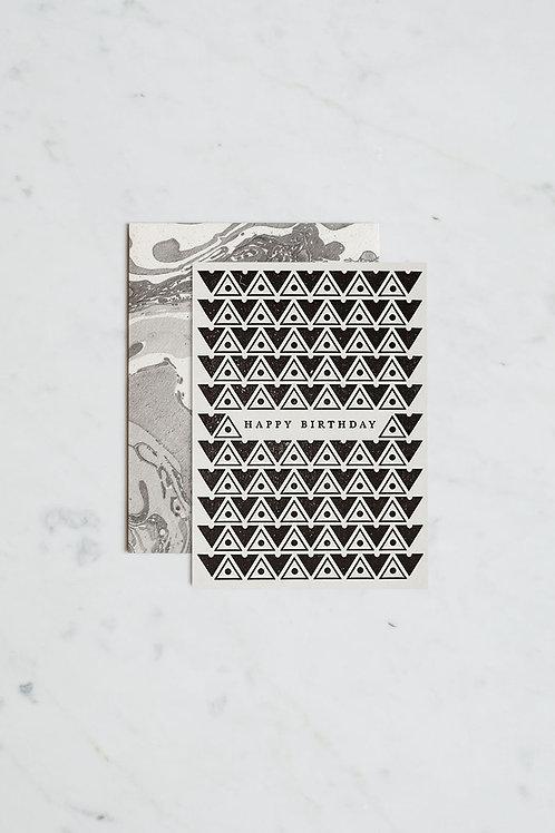 Katie Leamon Gift Card - Art Deco Happy Birthday
