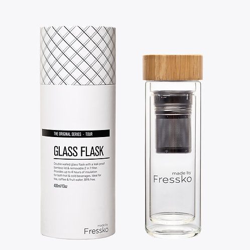 made by Fressko - Glass Flask