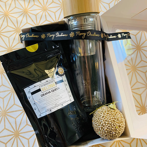 BBB Tea & Glass Flask Gift Set