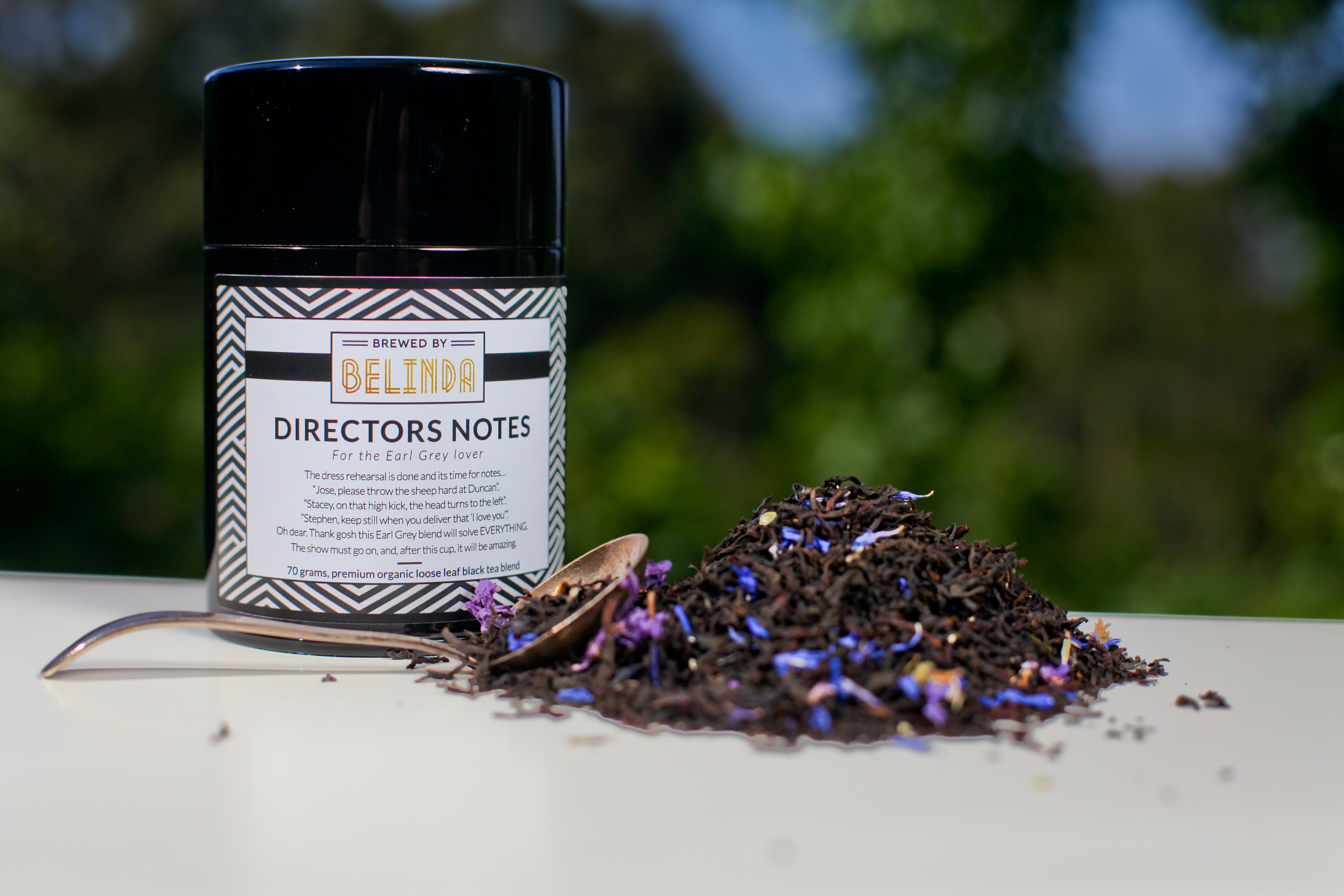 Director's Notes Canister