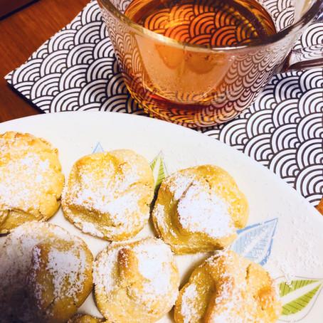 Earl Grey Infused 'Orange Drop' Biscuits