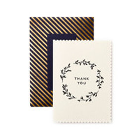 Katie Leamon Gift Card - Thank You - Deco Wreath
