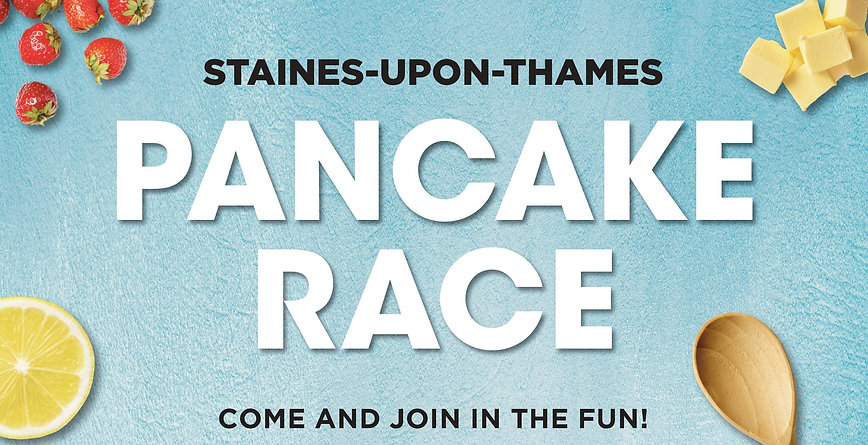Staines Charity Pancake Race