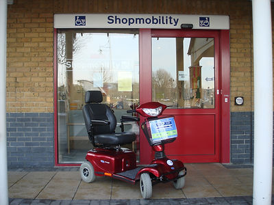 Old Staines Shopmobility Home