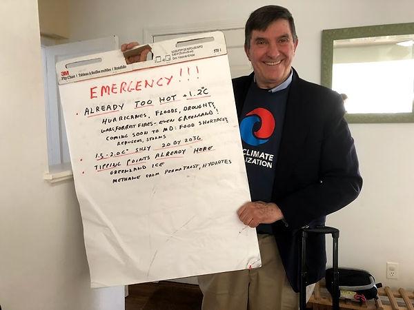 Jim Driscoll - Climate Mobilizaton MoCo
