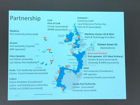 Atlantic Blue ports : un projet européen innovant et écologiquement vertueux, piloté depuis Brest.