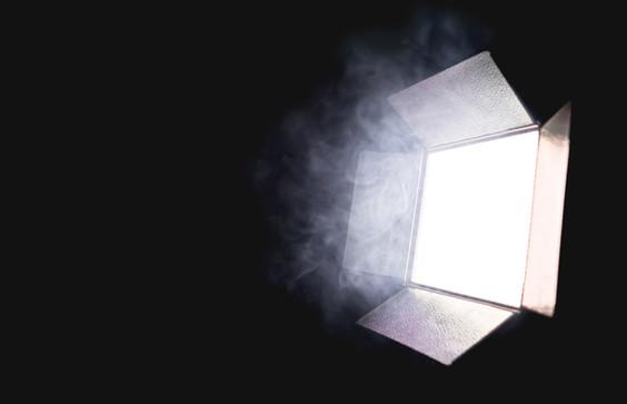 L'éclairage de la caméra