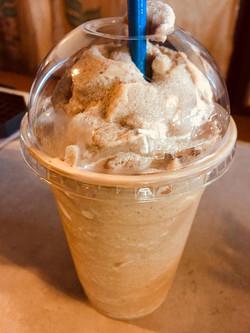 double shot vanilla frappe