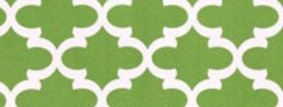 Green Moroccan Outdoor Fabric