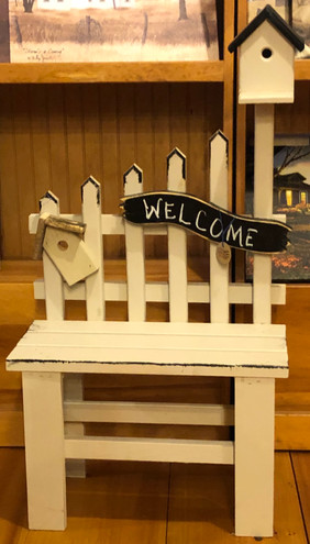 Small Picket Bench