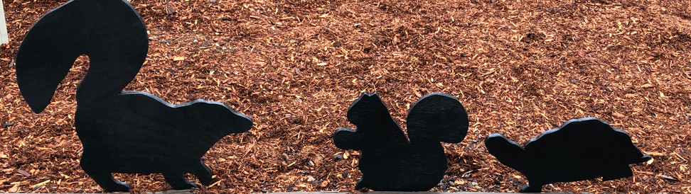 Skunk/Squirrel/Turtle Silhouette