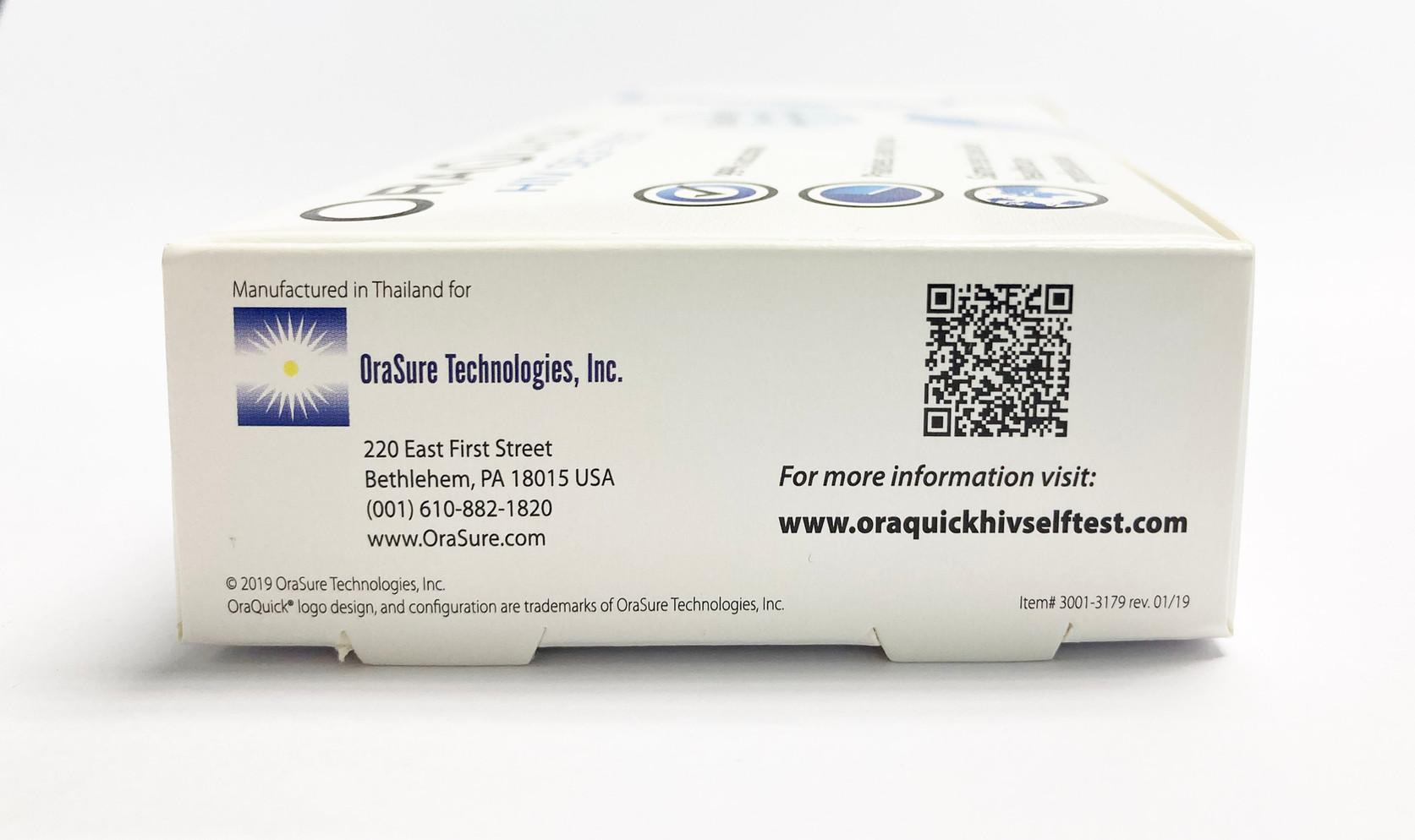 Oraquick HIV Self Test