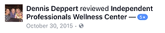 Review by Dennis Deppart