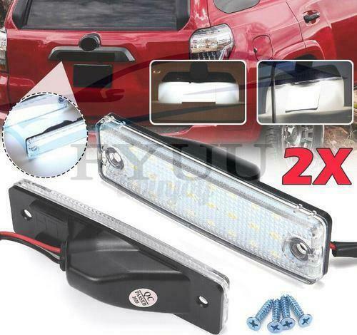 2PCS LED License Plate Light For Toyota