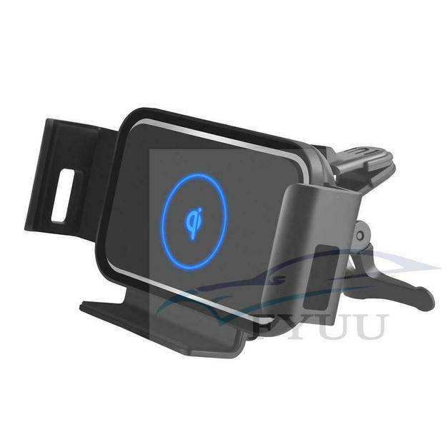 Auto Clamp 10W Qi Car Wireless Charger f