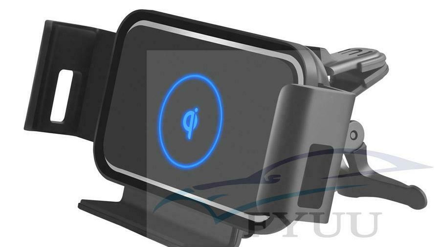 Auto Clamp 10W Qi Car Wireless Charger for Xiaomi Samsung Galaxy Fold Note 10