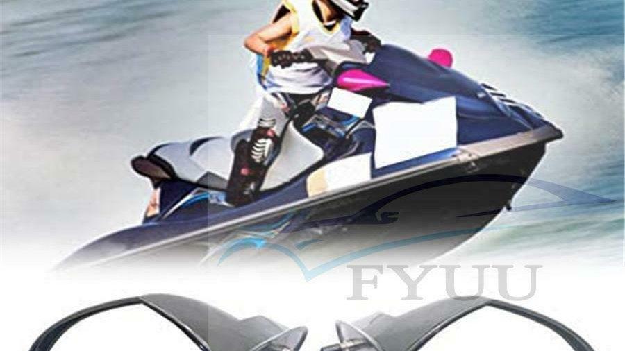 Pairs Motorboat Rearview Side Mirror For Yamaha VX 110 WaveRunner Cruiser Sport