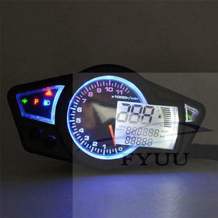 For 2&4 Cylinders Motorcycle LCD Speedom