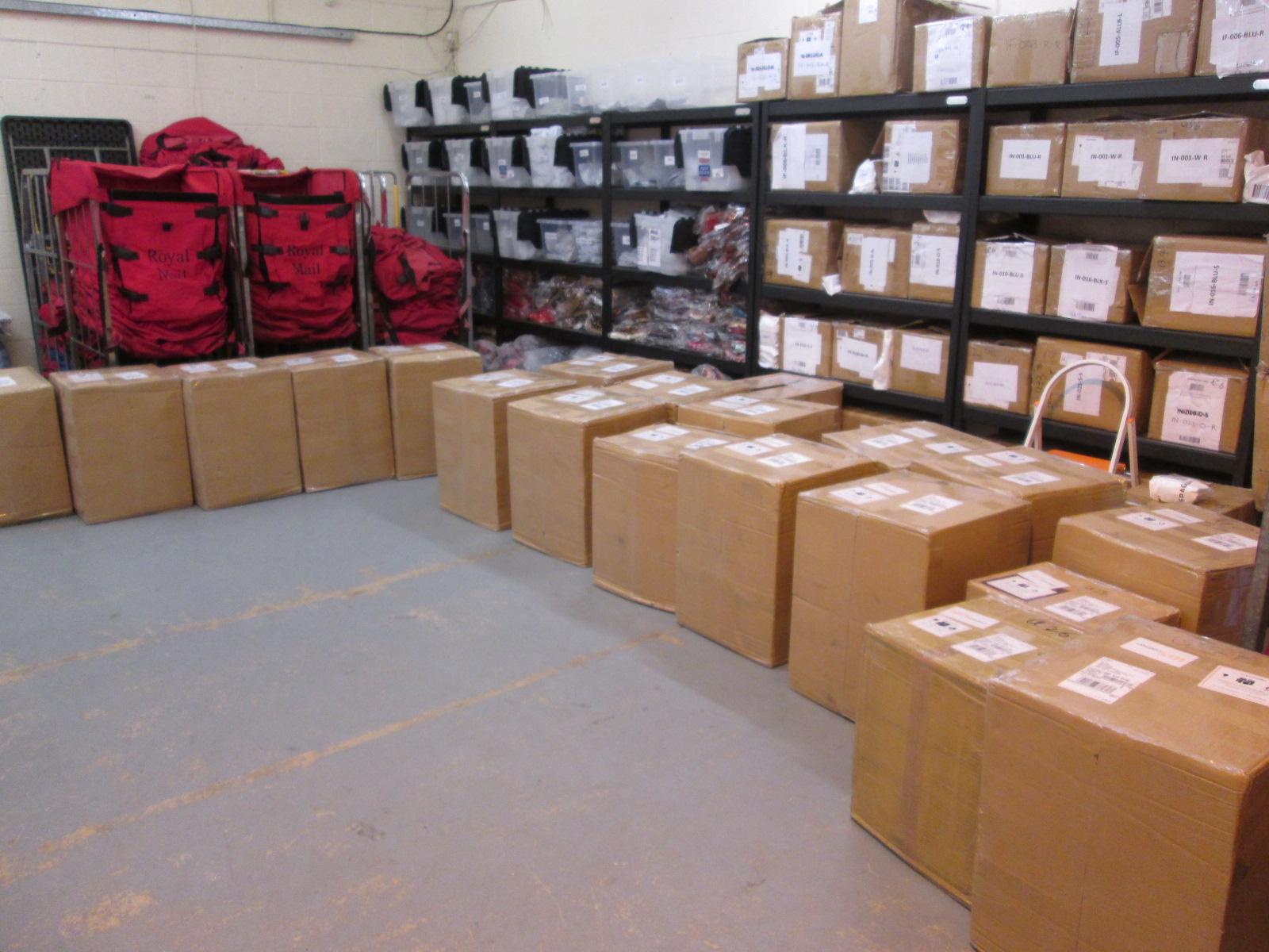 UPS Box Arrival