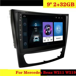 For Mercedes Benz W211 W219 9inch 32GB C