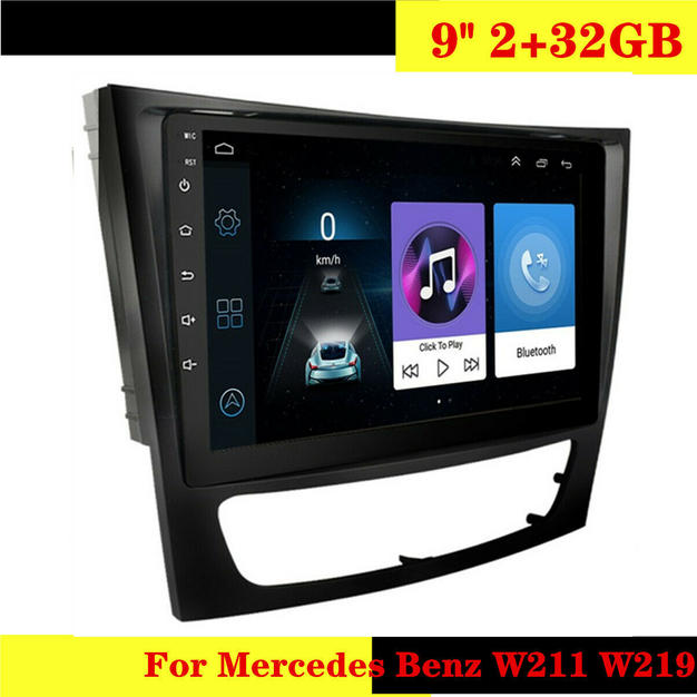 For Mercedes Benz W211 W219 9inch 32GB C