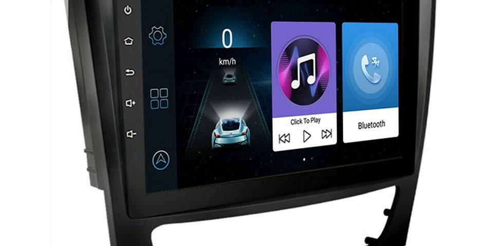 For Mercedes Benz W211 W219 9'' 2+32GB Car Stereo Radio GPS WIFI OBD W/ Canbus