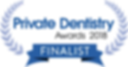 Private Dentistry Awards Finalist 2018