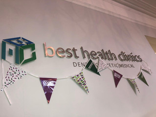 MACMILLAN COFFEE MORNING AT BEST HEALTH CLINIC