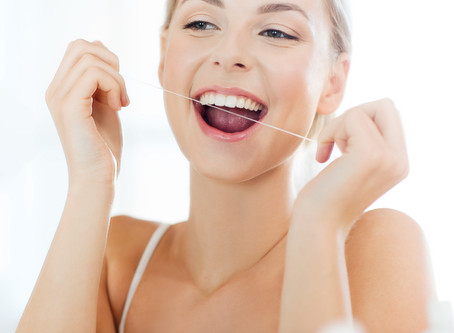 BRUSHING FIRST OR CLEANING IN BETWEEN THE TEETH?