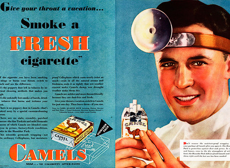 Doctors  Prescribed 'Healthy Cigarette Brands'?