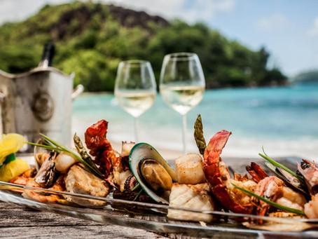 A gastronomia nas praias de Bombinhas - SC