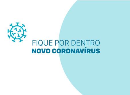 Fique por dentro do novo coronavírus