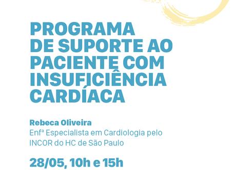 Palestra: Suporte ao Paciente com Insuficiência Cardíaca