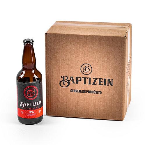 BAPTIZEIN TROPICAE - AMERICAN IPA -  KIT 6 GARRAFAS 500ml