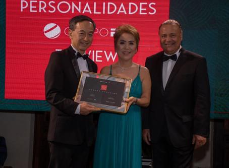Dr. Saburo Sugisawa recebe homenagem In Memorian do Prêmio Personalidades TOPVIEW