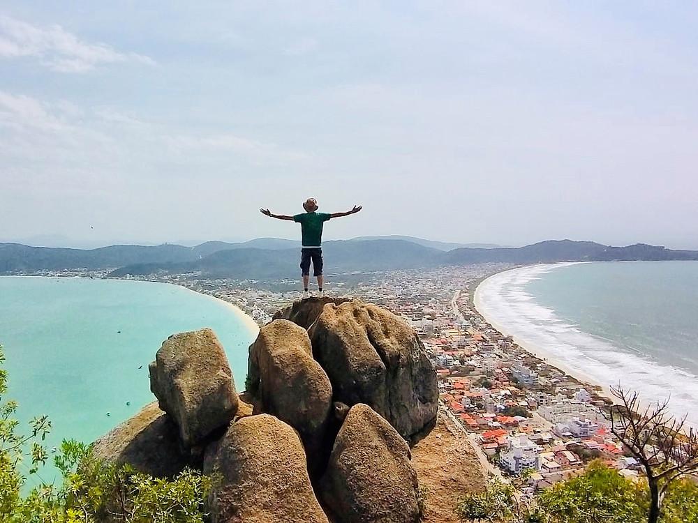 Morro do Macaco Bombinhas Santa Catarina