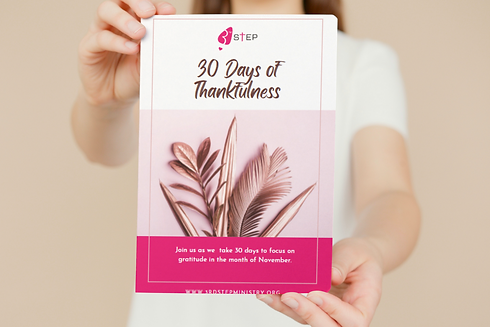30 Days of Thankfulness e-journal