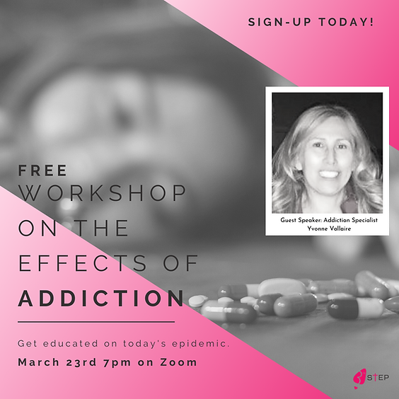 Effects of Addiction Workshop