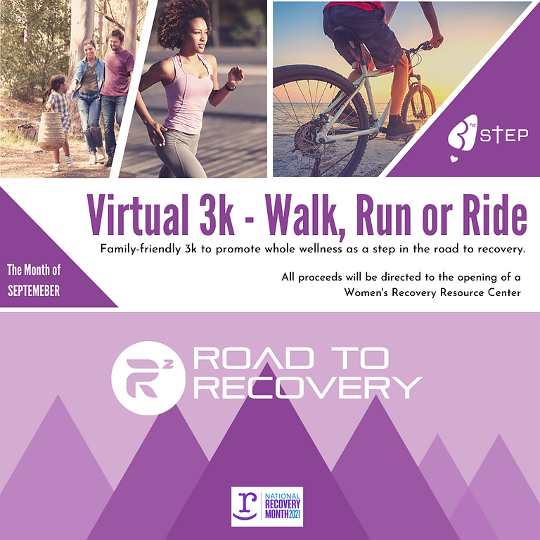 Road to Recovery Virtual 3K