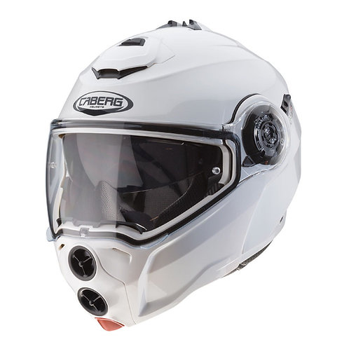 Caberg Droid Flip-Up Metal White