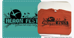 Heron Fest T-shirt Design