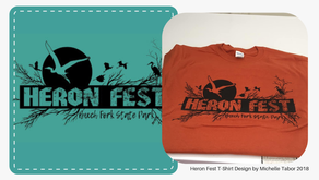 Heron Fest T-shirt Design
