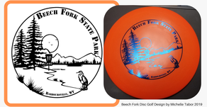 Beech Fork Disc Golf Disc Design